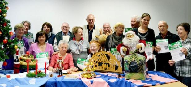 Die ehrenamtlichen Continue-Mitarbeiterinnen und -Mitarbeiter freuen sich auf zahlreiche Besucher beim diesjährigen Weihnachtsbasar (Foto: Stadt Iserlohn).