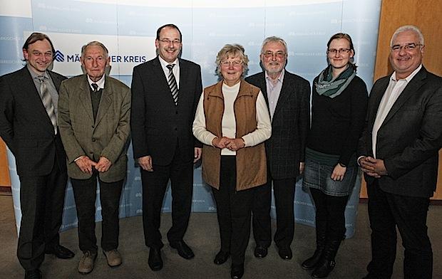 Photo of BdV-Führung zu Gast beim Landrat