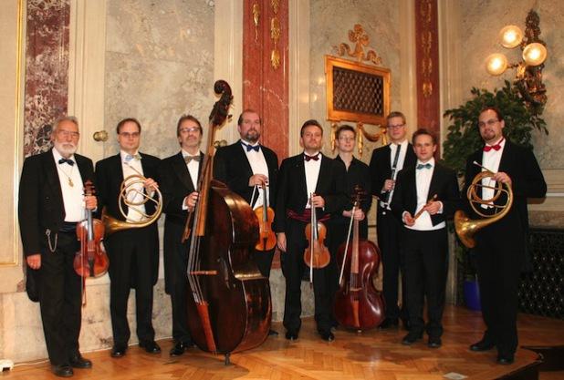 """Das """"Concilium musicum"""" aus Wien (nicht identisch mit der Besetzung des Olper Konzertes) - Quelle: Kulturamt der Stadt Olpe"""