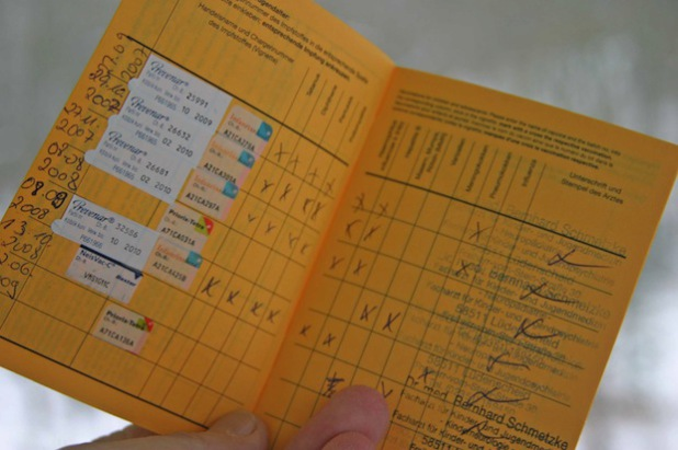 Der Kinder- und Jugendärztliche Dienst kontrollierte die Impfbücher (Foto: Ulrich Odebralski/Märkischer Kreis).