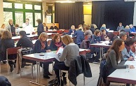 60 kamen zum zweiten Lehrersprechtag