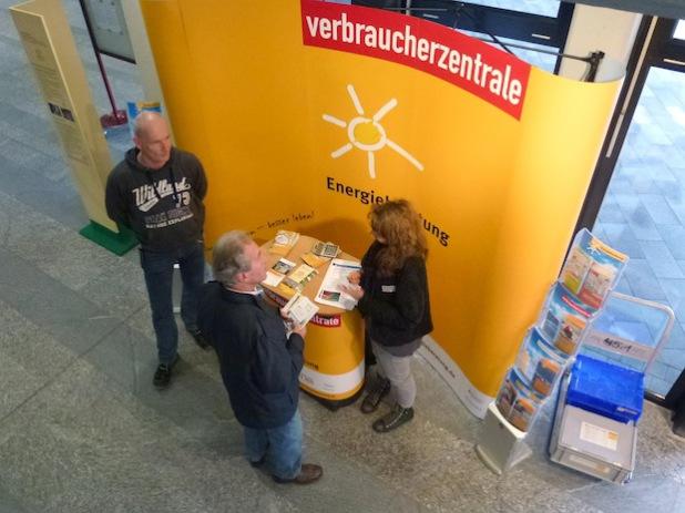 Verbraucherberatung bei der Ausstellung im Lüdenscheider Kreishaus (Foto: Märkischer Kreis)