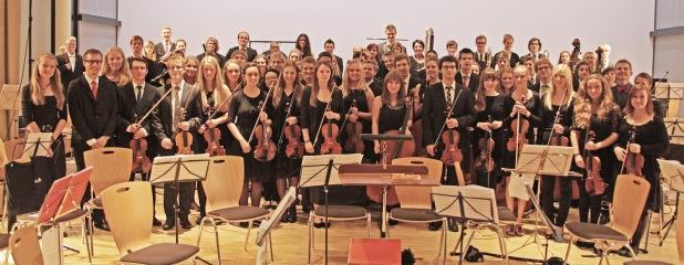 Das Märkische Jugendsinfonieorchester bereitet sich demnächst auf die Konzerte im Januar vor (Foto: Odebralski/Märkischer Kreis).