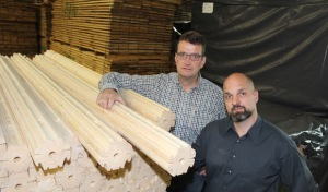 Innovative Häuser aus dem Holz-Baukasten