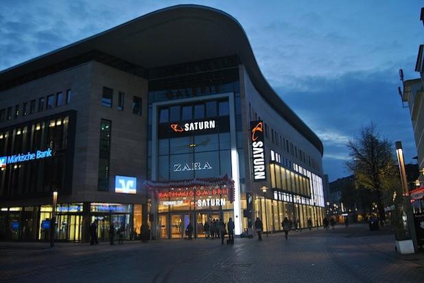 Die neue Rathaus Galerie in Hagen - Foto: Ann Christin Haselbach