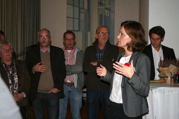 """Die rund 120 Teilnehmer des Regionalworkshops trugen spannende Ideen zusammen und stiegen mit viel Herzblut in die Diskussion um die Zukunft des """"3-Länder-Ecks"""" ein (Quelle: Gemeinde Neunkirchen)."""