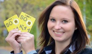 Pferde-Nummernschild: Plakette 2015 ist gelb