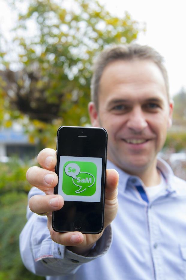 """Photo of Erste interaktive App für den Kundendienst: """"SeSaM To Go"""""""