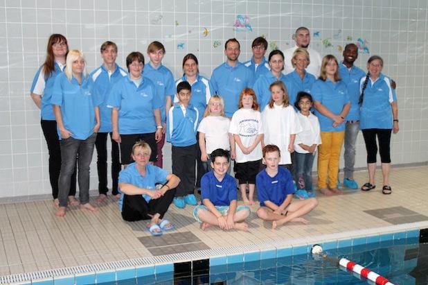 Der Schwimmverein Möhnewelle trägt nach Einschätzung der Jury wirkungsvoll zur Entfaltung der Fähigkeiten und persönlichen Interessen vieler unterschiedlicher Menschen bei (Foto: Schwimmverein Möhnewelle).