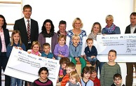 Volksbank Bigge-Lenne-Stiftung spendet 8.400 Euro