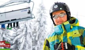 Kompakt, handlich und voller Infos: Booklet der Wintersport-Arena