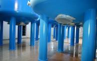 13,8 Tonnen schwere Filter ins neue Wasserwerk Hennesee eingebaut