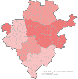 Einzugsgebiet von Südwestfalen-Nachrichten