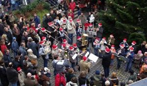"""Blechbläser der Musikschule zum 20. Mal beim """"Weihnachtlichen Barendorf"""""""