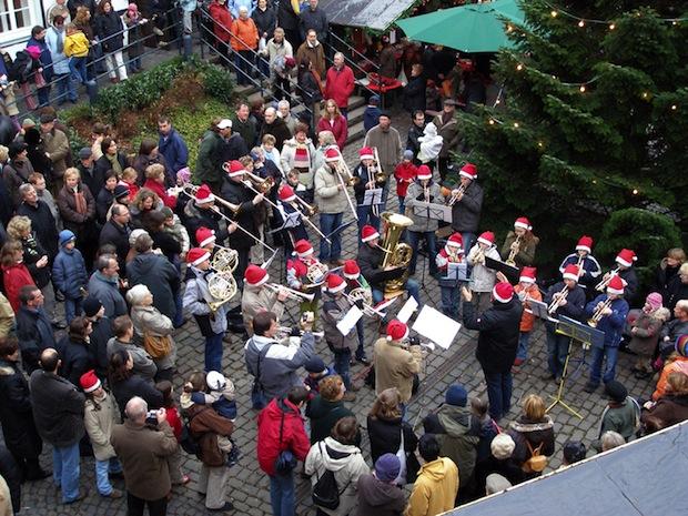 """Photo of Blechbläser der Musikschule zum 20. Mal beim """"Weihnachtlichen Barendorf"""""""
