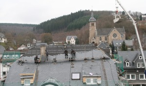 Gemeinde Neunkirchen setzt auf Schiefer