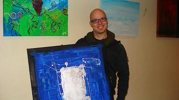 """Photo of Jens Kortsteger präsentiert sein künstlerisches """"Wirkungsfeld"""""""
