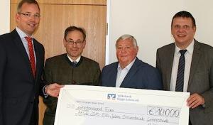 10.000 Euro für das Jubiläumsjahr