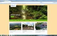 Urlaubsregion Hönnetal mit neuem Internetauftritt