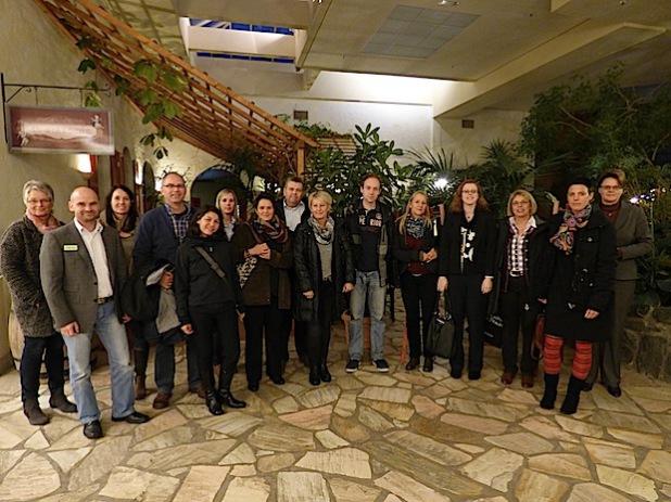 Die Unternehmen des Netzwerkes sammelten beim vierten Erfahrungsaustausch im Center Parcs – Park Hochsauserland in Medebach neue Ideen (Foto: WFG HSK).