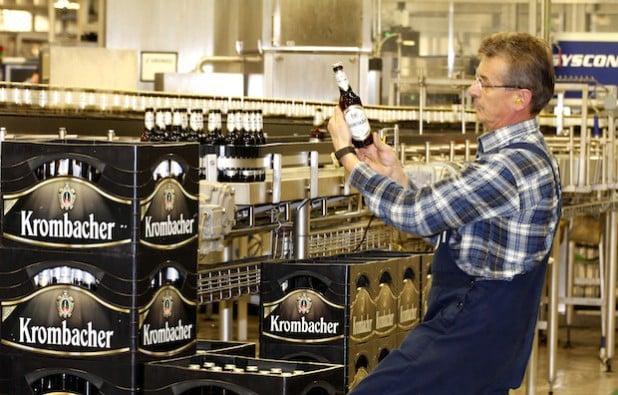 Foto: Krombacher Brauerei
