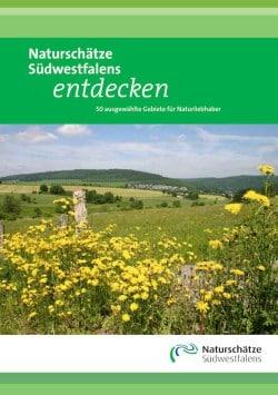 Das Titelblatt des neuen Buches über die Naturschätze Südwestfalens (Quelle: Märkischer Kreis).
