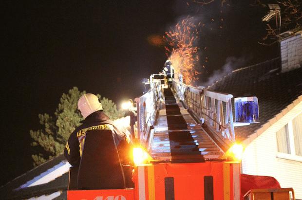 Photo of Menden: Kaminbrand in der Werler Straße