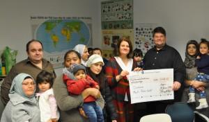 Neujahrskonzertbesucher spenden an Flüchtlingshilfe