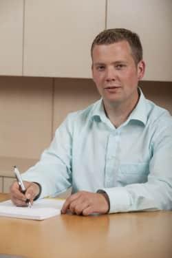 SVB-Energieberater Steffen Kellermann (Foto: Siegener Versorgungsbetriebe)