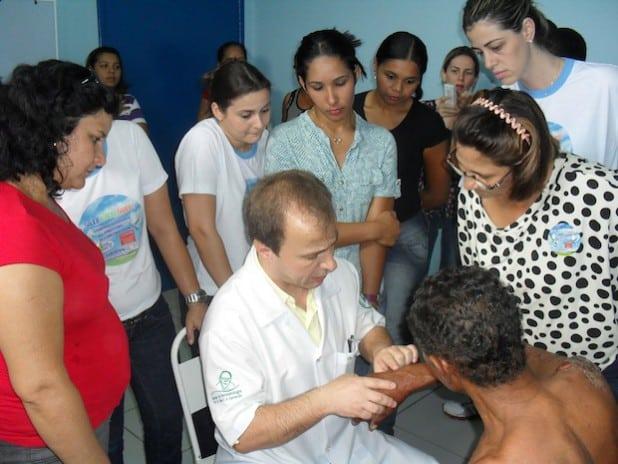 Leprakurs mit Dr. Jaison im Mato Grosso (Foto: privat).