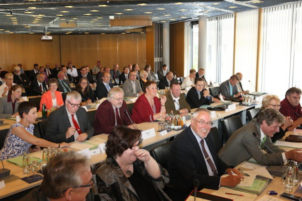 Zu insgesamt 34 Sitzungen des Kreistages (Foto) und der Ausschüsse kamen die Kreispolitiker im vergangenen Jahr zusammen (Foto: Hendrik Klein/Märkischer Kreis).