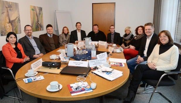 Der Runde Tisch Potentialberatung traf sich im Soester Kreishaus zum Erfahrungsaustausch (Foto: Thomas Weinstock/Kreis Soest).