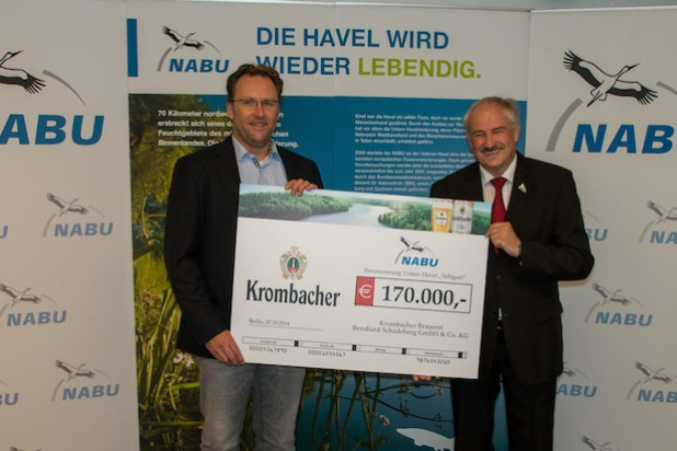 Quelle: Krombacher Brauerei Bernhard Schadeberg GmbH & Co. KG