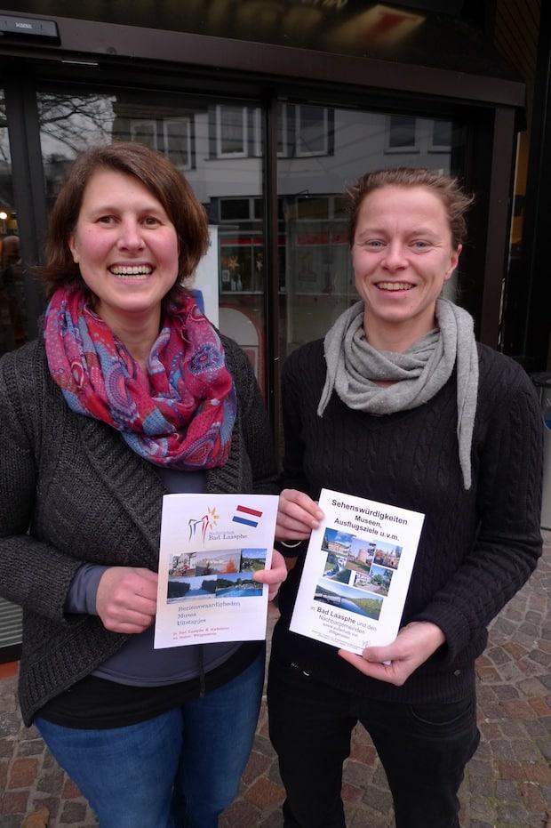 Frau Muller-Bosch und Frau Friedreich von TKS Bad Laasphe (Bild: TKS)