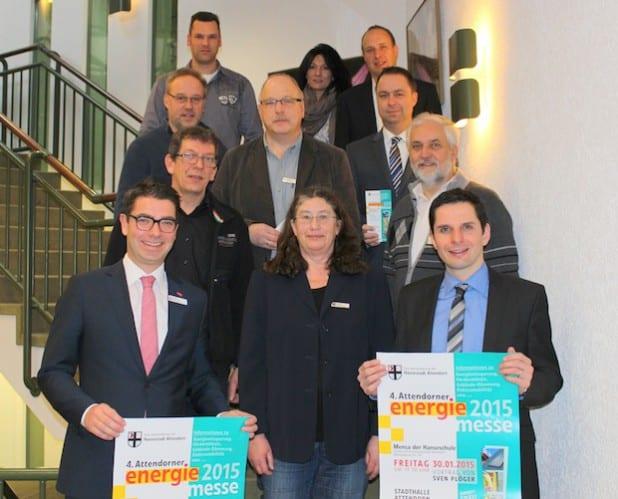 Zu einem letzten Vorbereitungsgespräch mit den Organisatoren der Energiemesse trafen sich in diesen Tagen die Aussteller im Attendorner Rathaus (Foto: Hansestadt Attendorn).