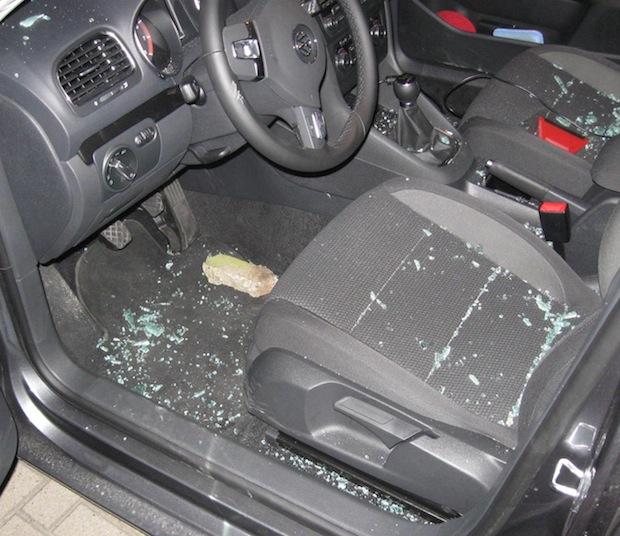 Photo of Fahrzeug aufgebrochen