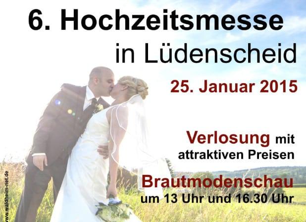 Hochzeitsmesse Lüdenscheid 2015.