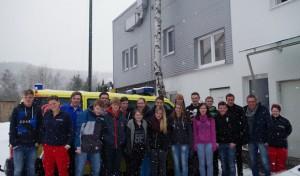 Berufserkundung in der Rettungswache Lennestadt