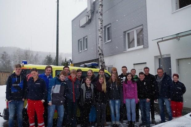Photo of Berufserkundung in der Rettungswache Lennestadt