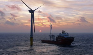 Offshore-Windpark der Stadtwerke Soest am Netz