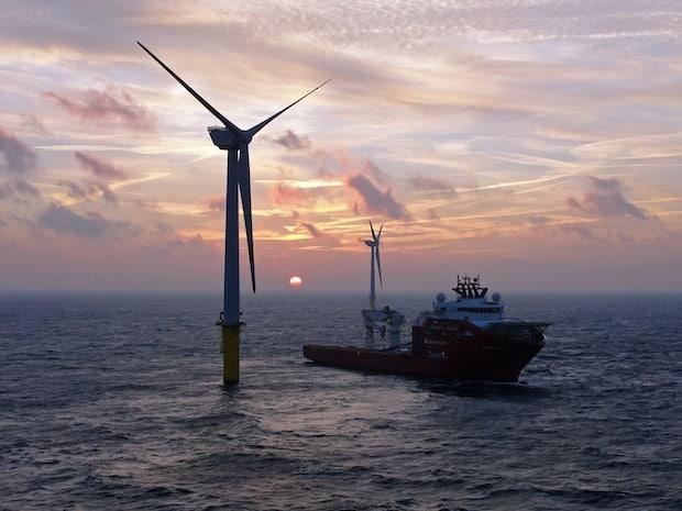 Photo of Offshore-Windpark der Stadtwerke Soest am Netz