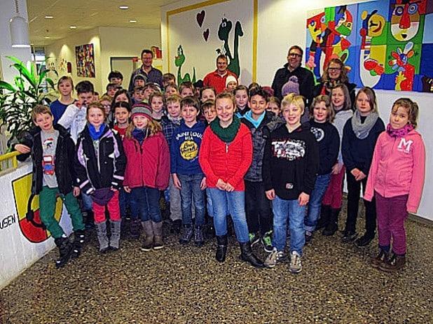 Unterricht sowie verschiedenste Schulangebote erleben konnten die Viertklässler der Grundschulen bei ihrem Besuch in der Sekundarschule Olsberg-Bestwig (Foto: Sekundarschule Olsberg-Bestwig).