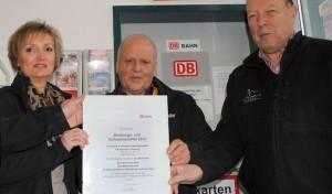 DB bescheinigt Olsberger Agentur hervorragende Qualität