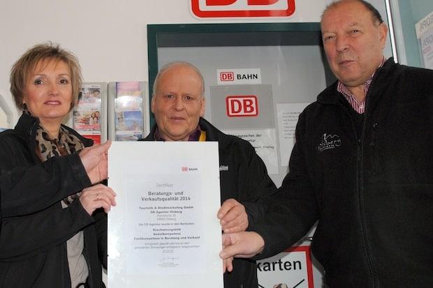 Photo of DB bescheinigt Olsberger Agentur hervorragende Qualität