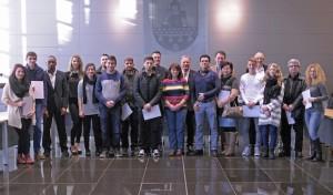Einbürgerungsempfang im Lüdenscheider Rathaus