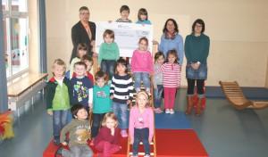 KreisSportBund und Volksbanken zeichnen sportliche Kindergärten aus