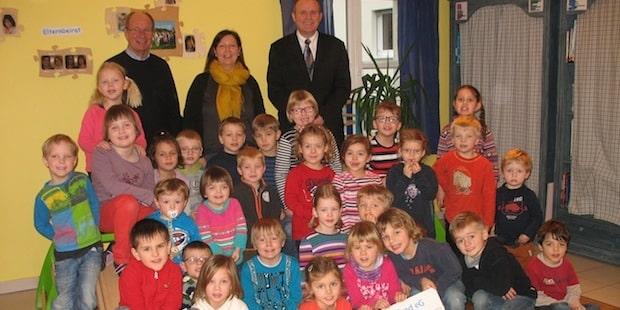 Photo of Kita St. Marien: 31 Kinder absolvierten Sportabzeichen