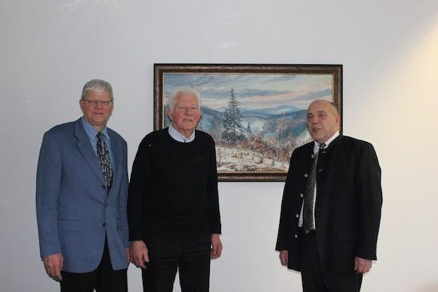 Photo of Dieter Wagener nach 45 Jahren aus dem Kreisjagdbeirat verabschiedet