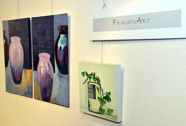"""Photo of Malgruppe """"Frauen Art"""" präsentiert """"Gefäße"""""""