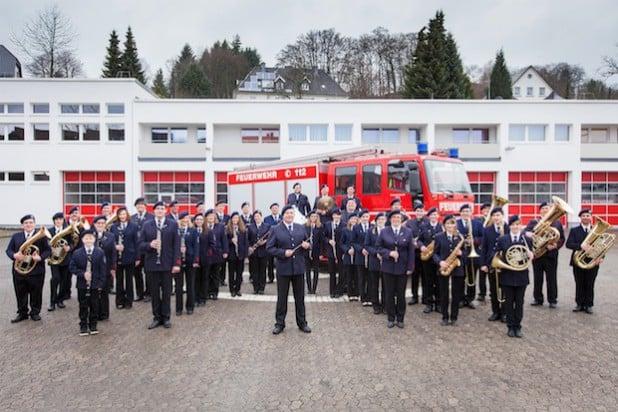 Foto: Musikzug der Freiwilligen Feuerwehr Attendorn